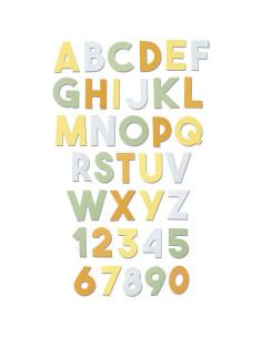 TROQUEL XL ''CHUNKY ALPHABET BY E.TOOTLE''SIZZIX