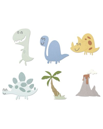 TROQUEL''DINOSAURS BY P.HUGHES'' SIZZIX