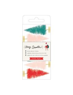 Abetos de Navidad Multicolor Hey, Santa crate paper