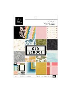 Block Papeles Pequeño Old School de Heidi Swapp