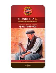 """Lápiz acuarelable """"Mondeluz""""12c"""