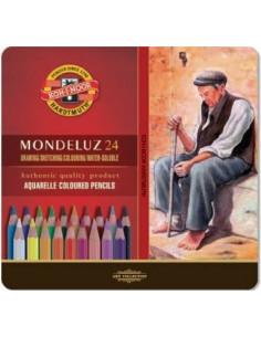 """Lápiz acuarelable """"Mondeluz"""" 24C"""