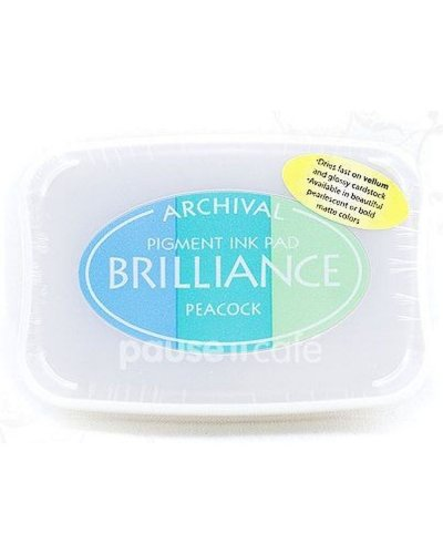Tinta brilliance color Peacock