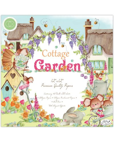Block 30x30cm Cottage Garden