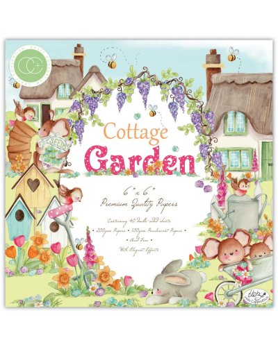 Block 15x15cm Cottage Garden