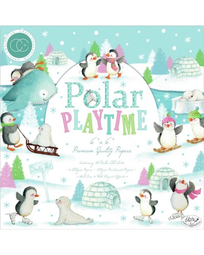 Block 15x15cm Polar Playtime