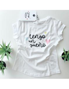 Camiseta infantil tengounsueño 6-7 años