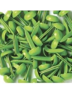 Mini brads verde limón Doodlebug Design