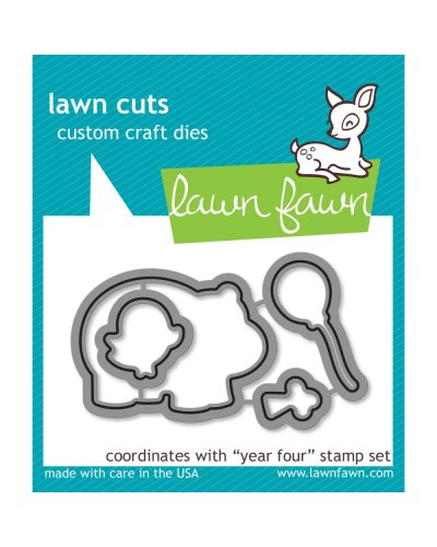 Troquel Year four Lawn fawn