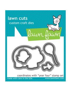 Lawn Fawn Year four dies