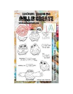 Sello Owl you need is love Aall&Create