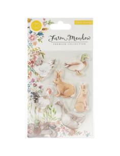 Sello Florals Animals Meadow