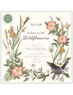 Bloc 15x15cm Wildflowers