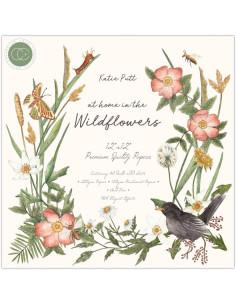 Bloc 30x30cm Wildflowers