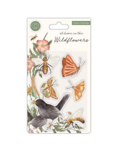 Sello Bess&Butterflies Wildflowers