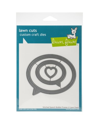 Lawn Fawn Stitched Speeech Bubble Frames dies