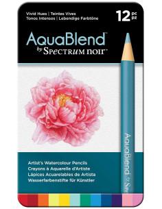 Lápices Spectrum Noir Aqua Blend (12 piezas)
