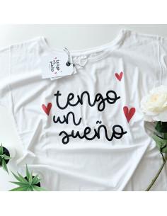 Camiseta tengo un sueño S