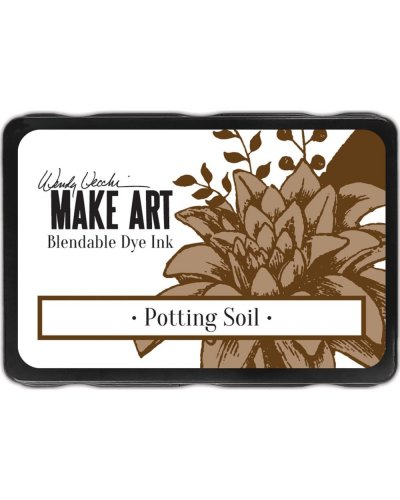 Tinta Potting Soil Art