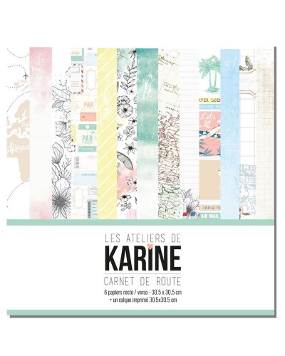 Kit Carnet de Route karine