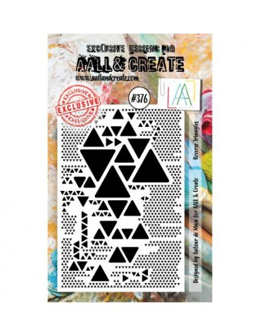 Sello Reverse Triangles Aall&Create