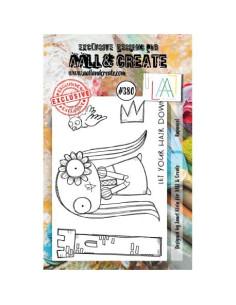 Sello Rapunzel Aall&Create