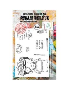Sello Frida Aall&Create