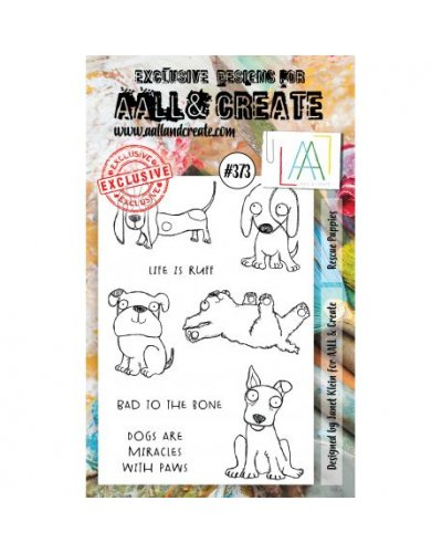 Sello Rescue Puppies Aall&Create