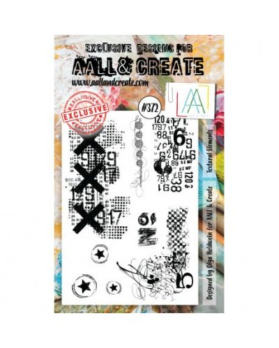 Sello Textural Elements Aall&Create