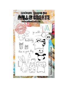 Sello Go Wild Aall&Create