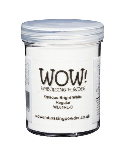 Polvo emboss WOW! Opaque Bright White