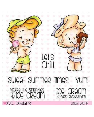 C.C. Designs sello Ice Scream