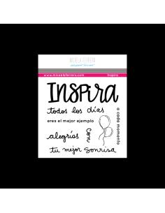 Sello Inspira Paper Lover Micaela Ferrero