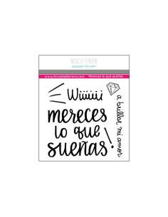 Sello Mereces lo que Sueñas Paper Lover Micaela Ferrero