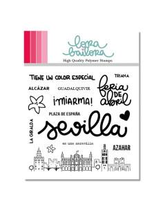 Sello Sevilla Lora Bailora