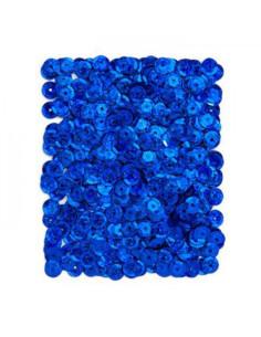 Lentejuelas azul oscuro