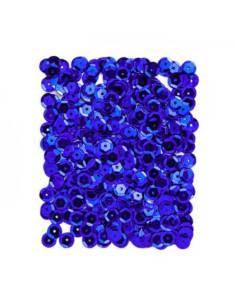 Lentejuelas azul