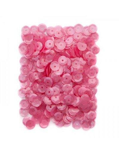 Lentejuelas rosa chicle