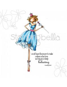 Sello Stampingbella Faith the Fairy