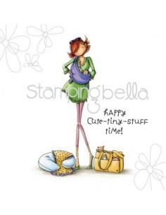 Sello Stampingbella Girl Baile has Baby