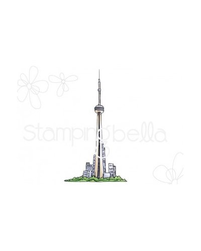Sello Stampingbella Cn Tower