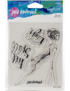 Sello Free Spirit Jane Davenport