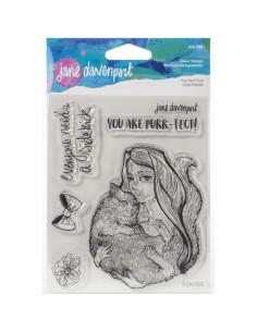 Sello Purr-fect Cat Jane Davenport
