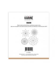 Platilla para costura Napperons de karine