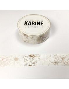 Washi Tape Floral Intemporelle de karine