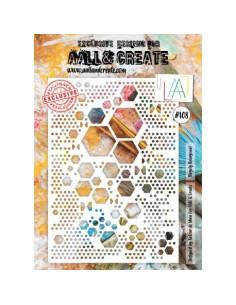 Plantilla A4 Hugely Hexagonal All&Create