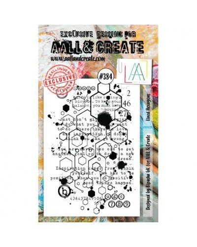 Sello Scripted squares Aall&Create