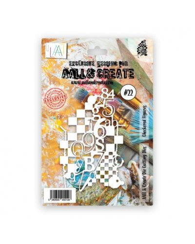 Troquel Checkered figures Aall&Create