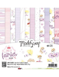 Kit 6x6 Land of fairies modascrap