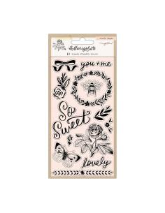 Petalos de flor washi Marigold de Maggie Holmes